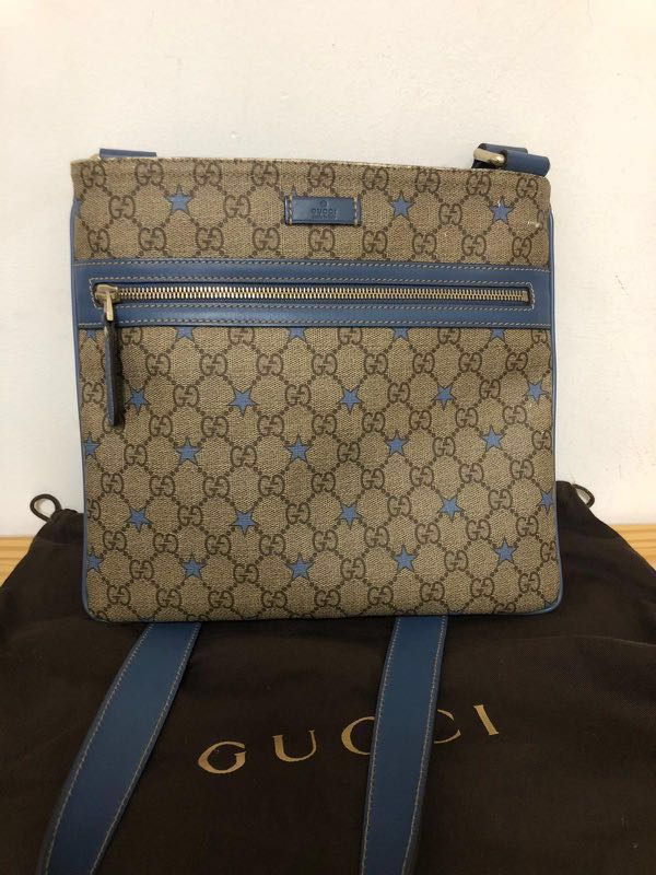 70dba4f396f4 Gucci Sling Bag Men, Luxury, Bags & Wallets, Sling Bags on Carousell