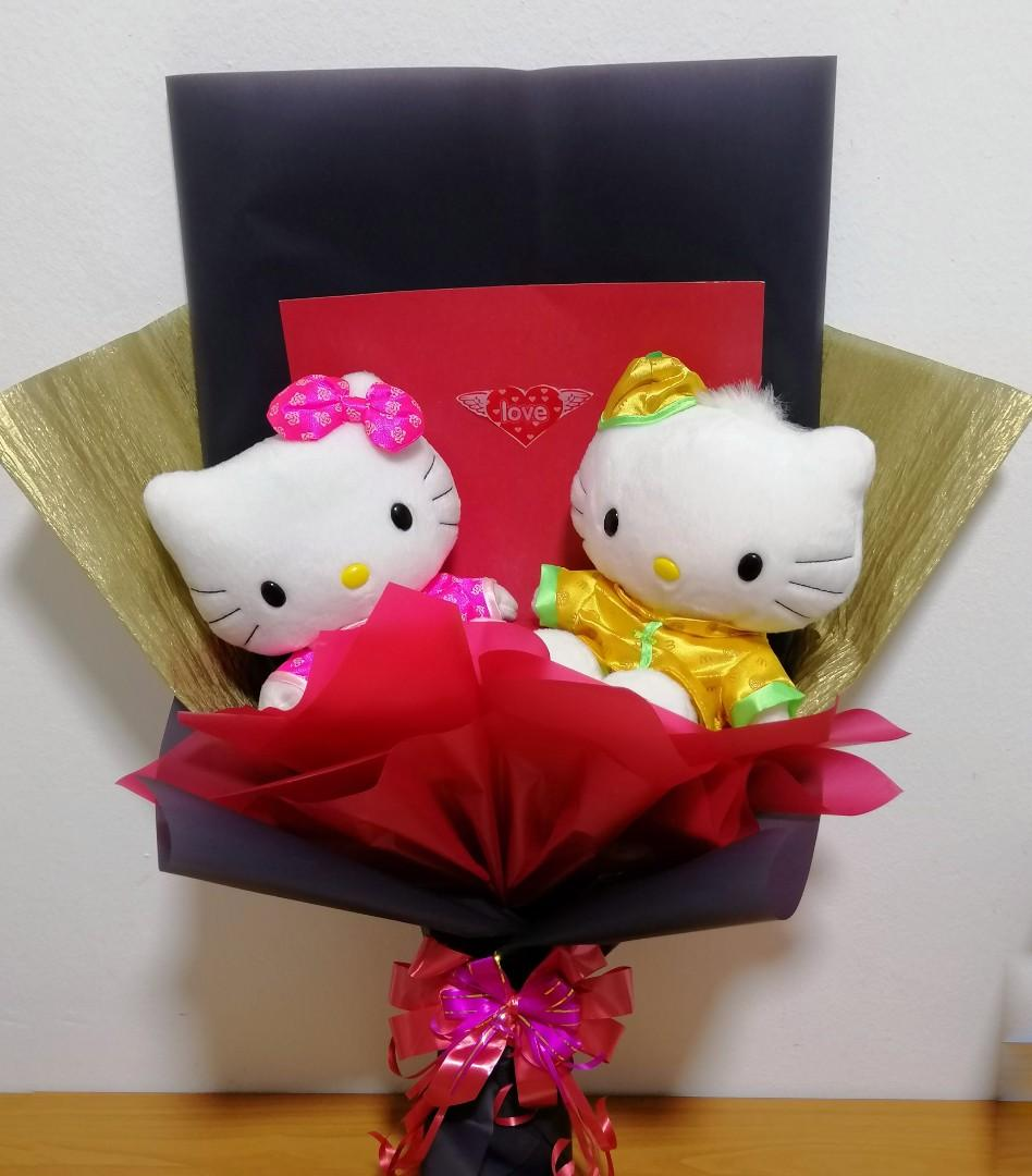 Hello Kitty and Dear Daniel collectible bouquet
