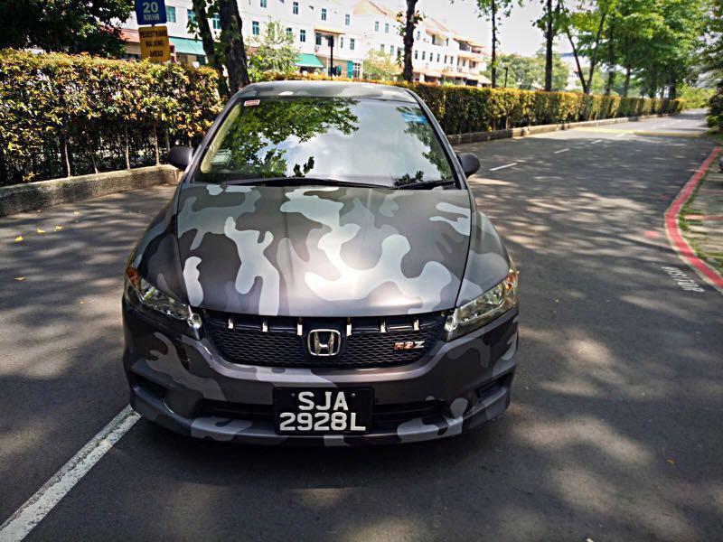 Honda Stream MPV for rent