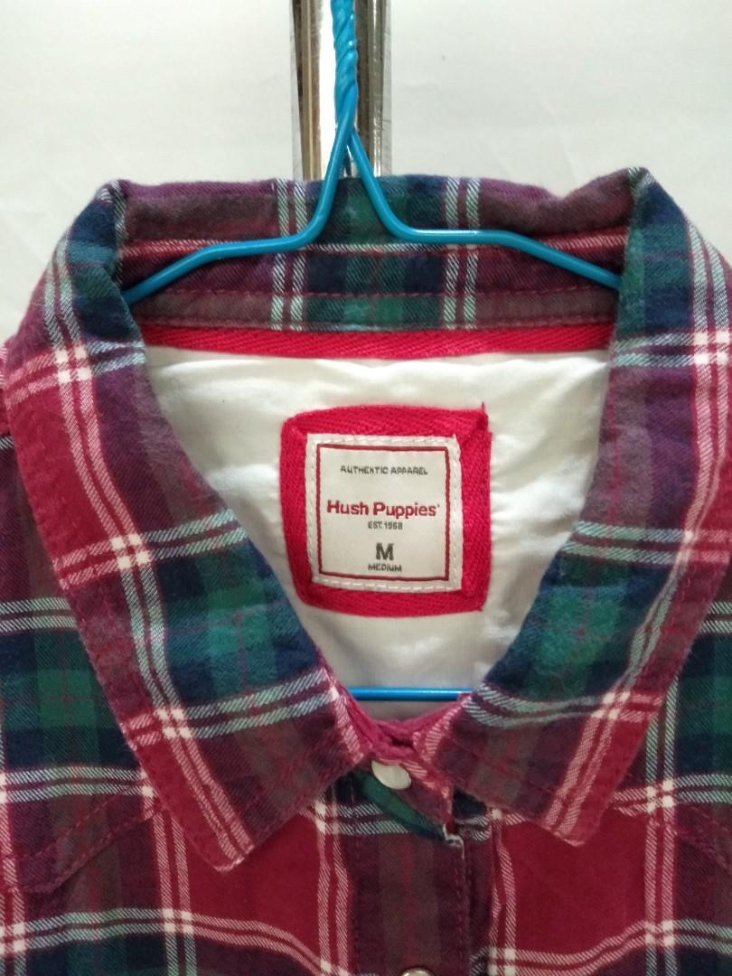 Hush puppies flanel shirt