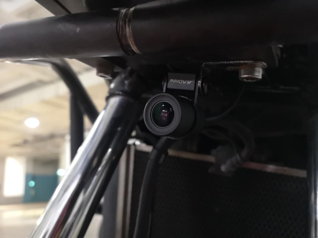 Innovv K2 installed on Honda NC750