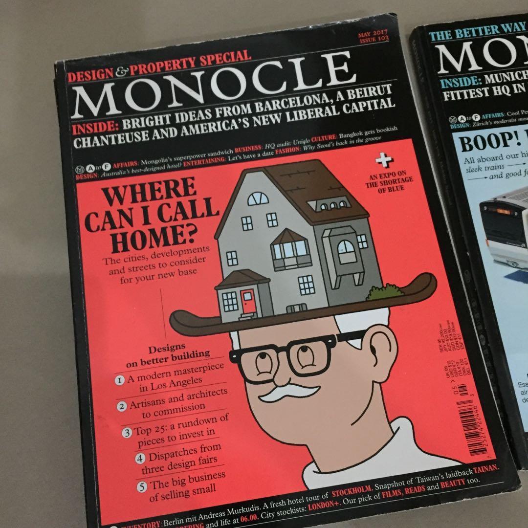 Jual Majalah Monocle All 3 majalah