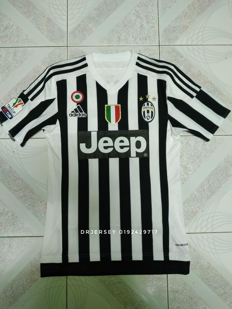watch 93805 fae42 Juventus Jersey home kit 2015/16