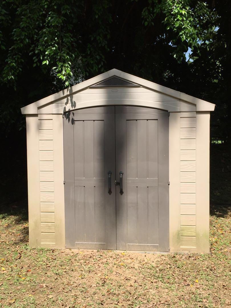 Wide X 1 7m Deep Garden Storage Shed
