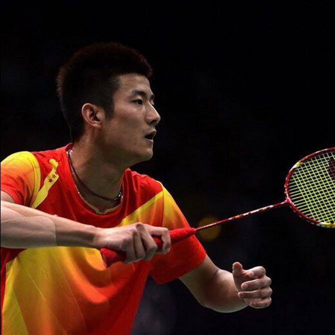 Limited Edition Badminton Shirt Personally Signed by Chen Long and other China Li-Ning Ambassadors