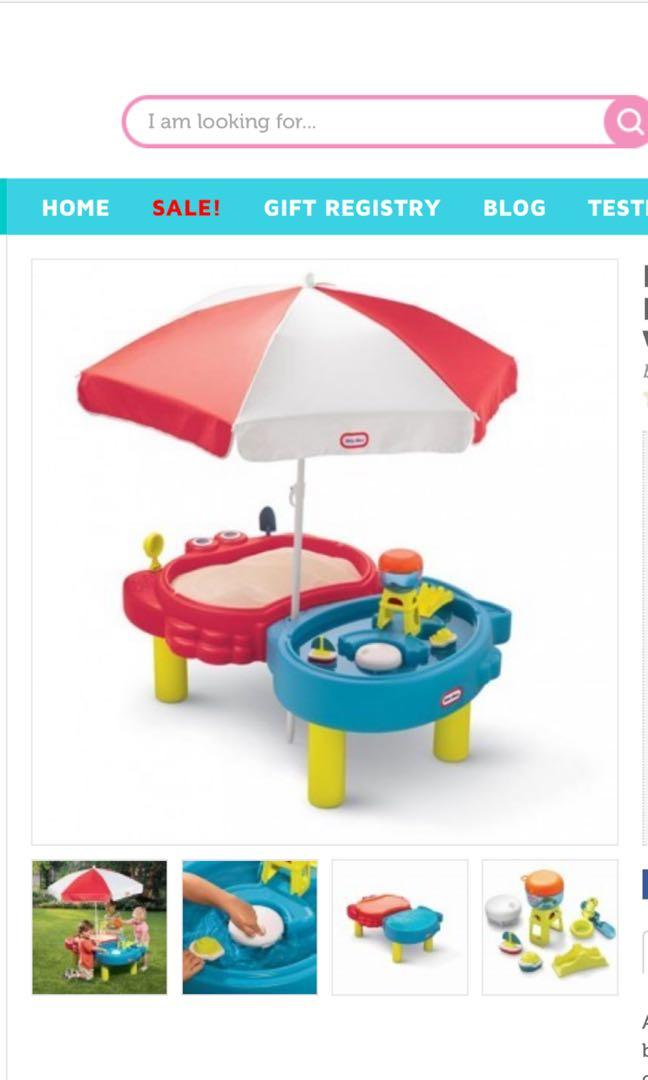 Little Tikes Sand & Water play tables