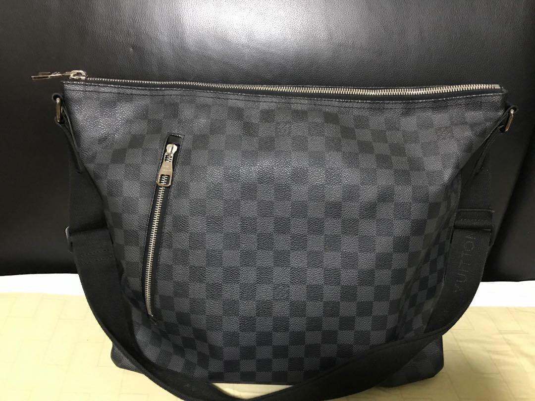 323c773d5 Louis Vuitton Damier Graphite Mick Gm Messenger Bag, Luxury, Bags ...