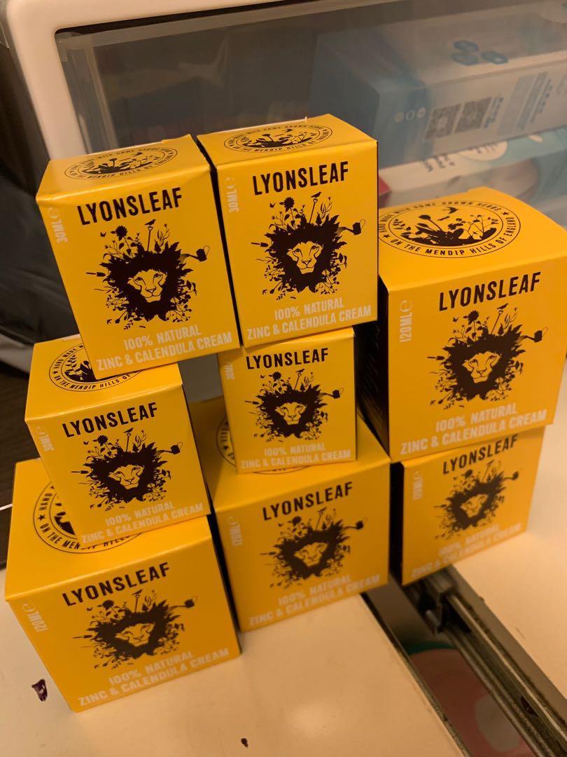 lyonsleaf 英國金盞花氧化鋅天然有機保濕霜