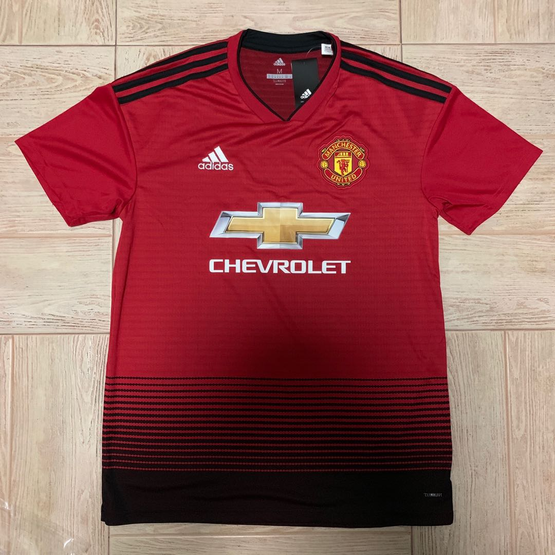 Sports Kit On Carousell 18 Manchester Sports 19 Home Authentic United Apparel cdceefbbbdfab TMG Draft Zone