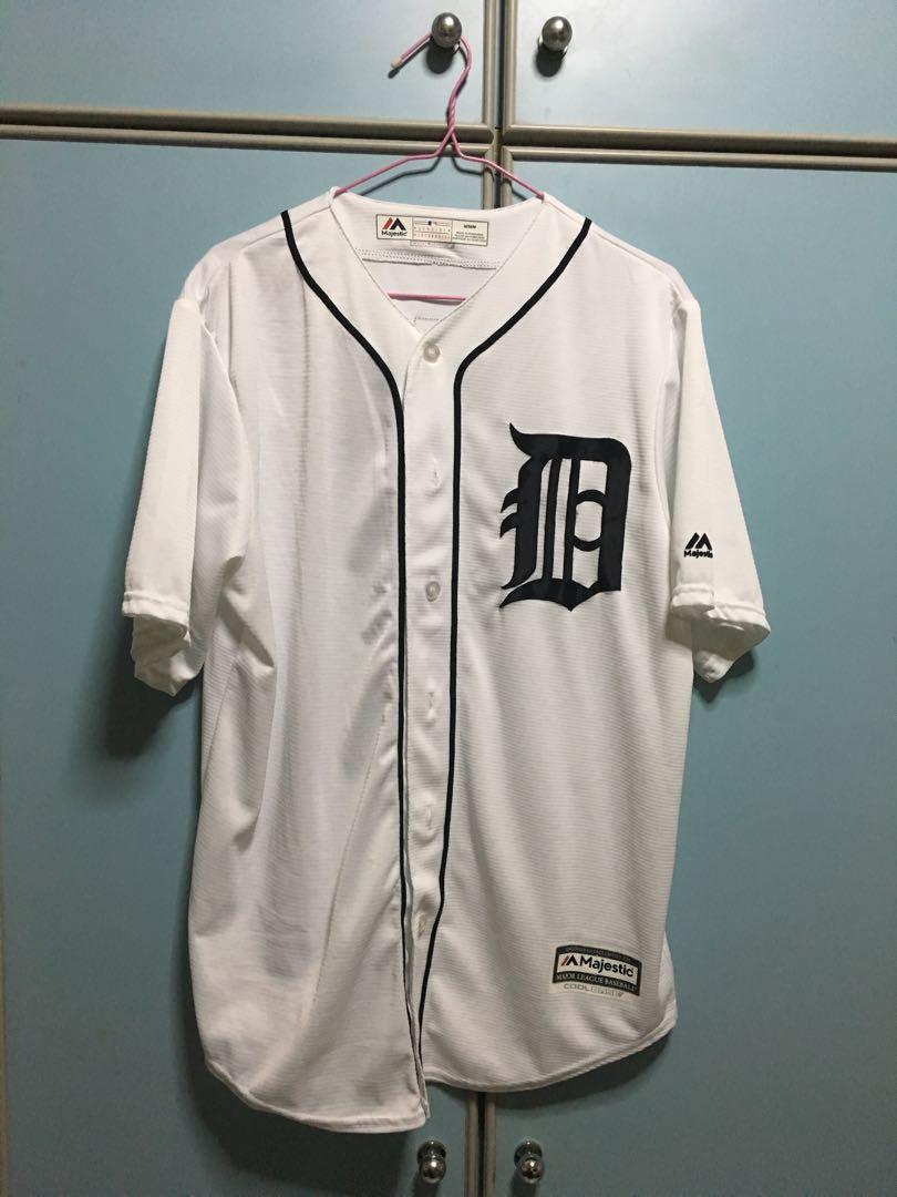 c22d8c92d MLB Majestic Detroit Tigers jersey  EndgameYourExcess
