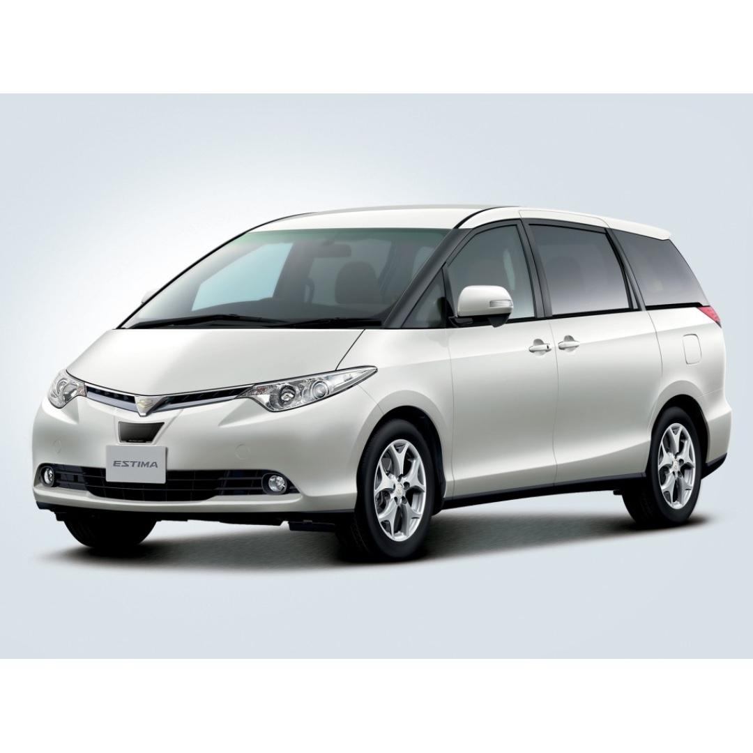 MPV Rental 8 Seater Toyota Estima, Affordable Quality Cars