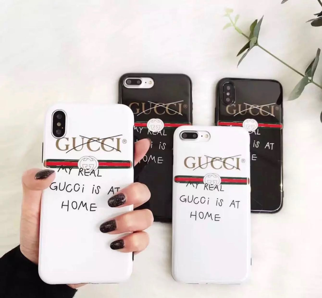 release date ee82a 69f3f My Real Gucci is at Home iPhone Casing