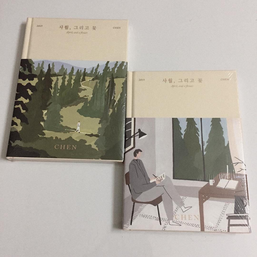 [MYGO:READYSTOCK-SEALED] CHEN - APRIL, AND A FLOWER