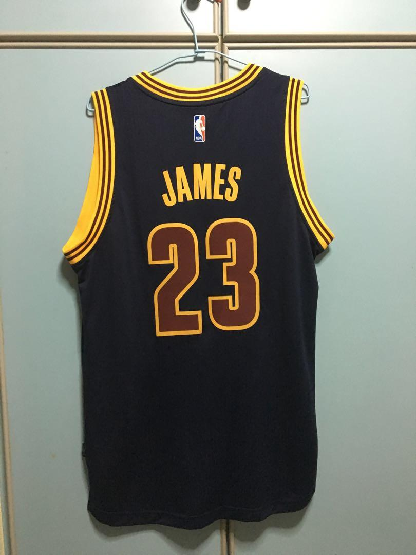 buy online 8f8ec 52f19 NBA Adidas Cleveland Cavaliers LeBron James jersey M ...