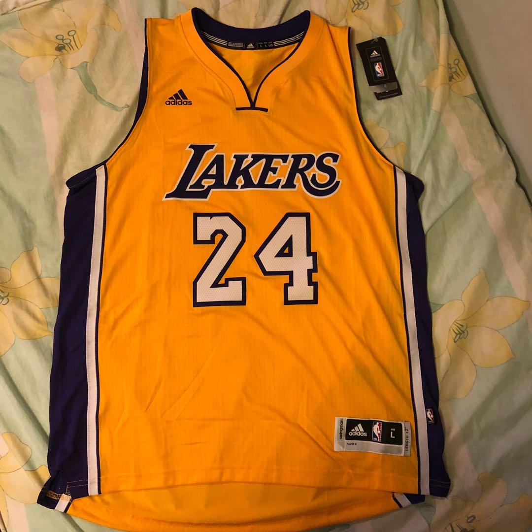 innovative design f56fe b5d88 NBA Adidas Kobe Bryant LA LAKERS Jersey