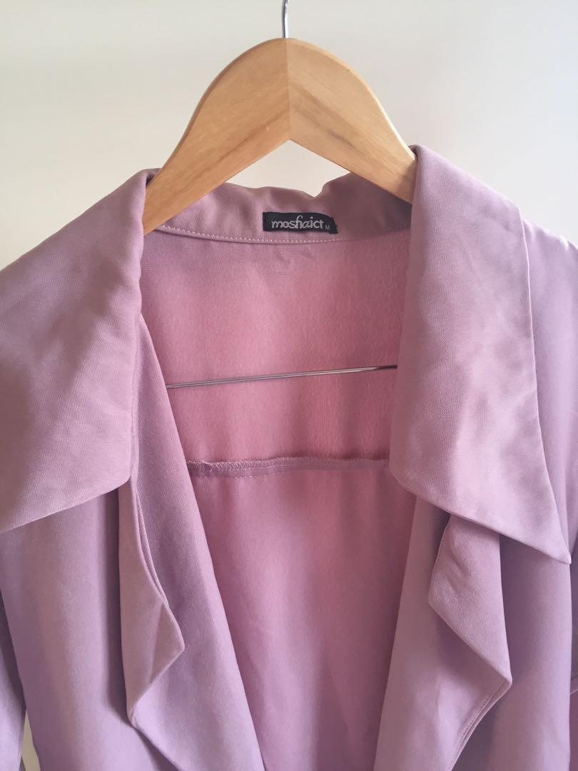 [NEW] Moshaict Pink Blazer