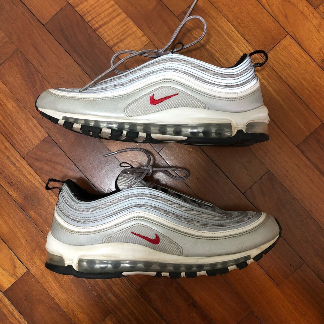 new style 7542d d2081 Nike Silver Bullet Air Max 97, Men s Fashion, Footwear, Sneakers on ...