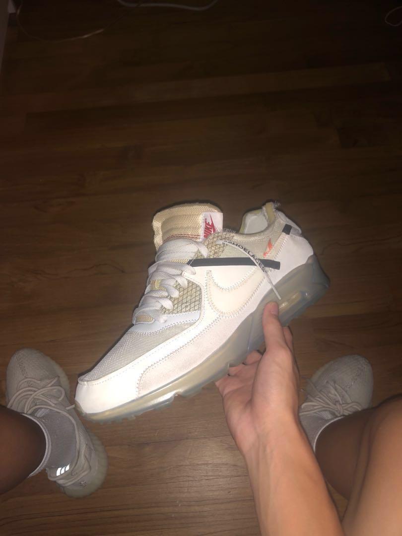 COMING SOON: OFF WHITE x NIKE AIR MAX 90 'THE TEN' Sneaker  Sneaker