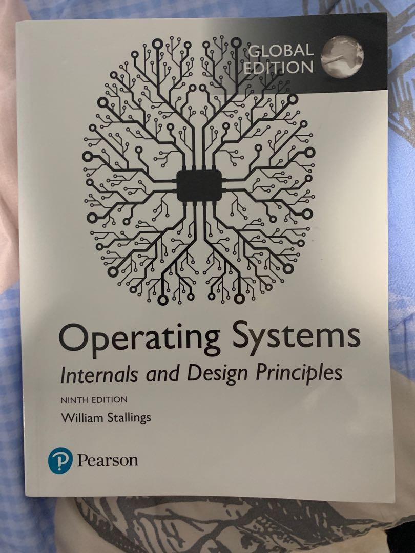 Operating Systems Internals And Design Principles Books Stationery Textbooks Professional Studies On Carousell