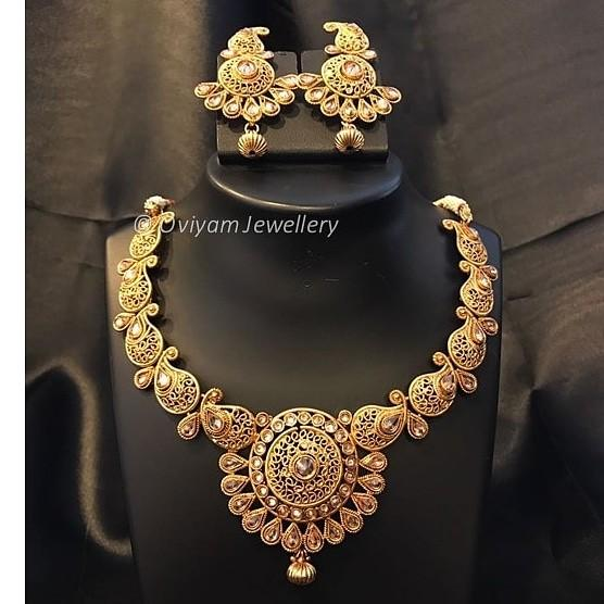 Oviyam jewellery - costume jewellery - Indian jewellery