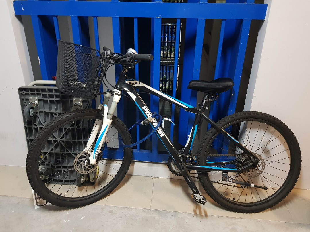 ed84da5ae11 Polygon bike, Bicycles & PMDs, Bicycles, Mountain Bikes on Carousell