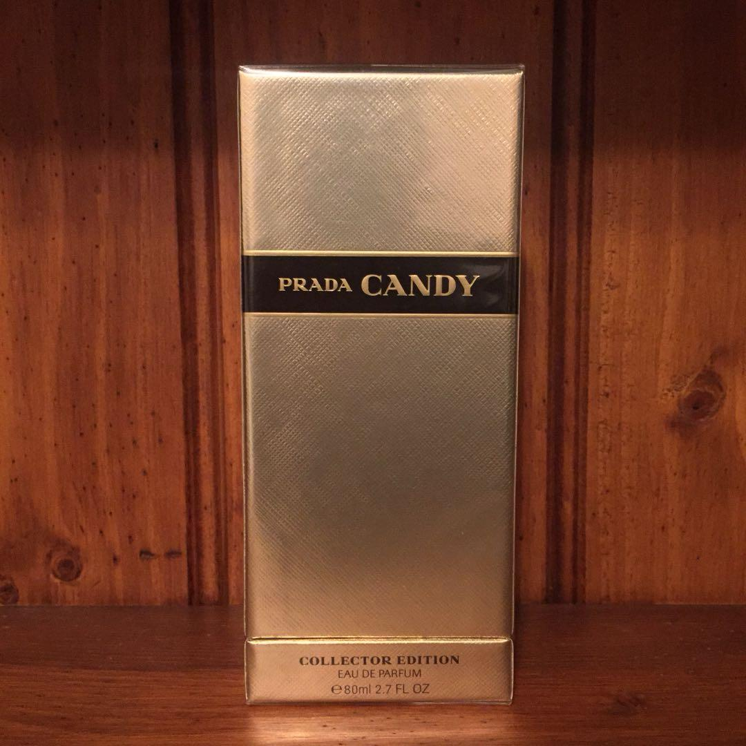 Prada Candy 80ml edp Gold Collector Edition bottle