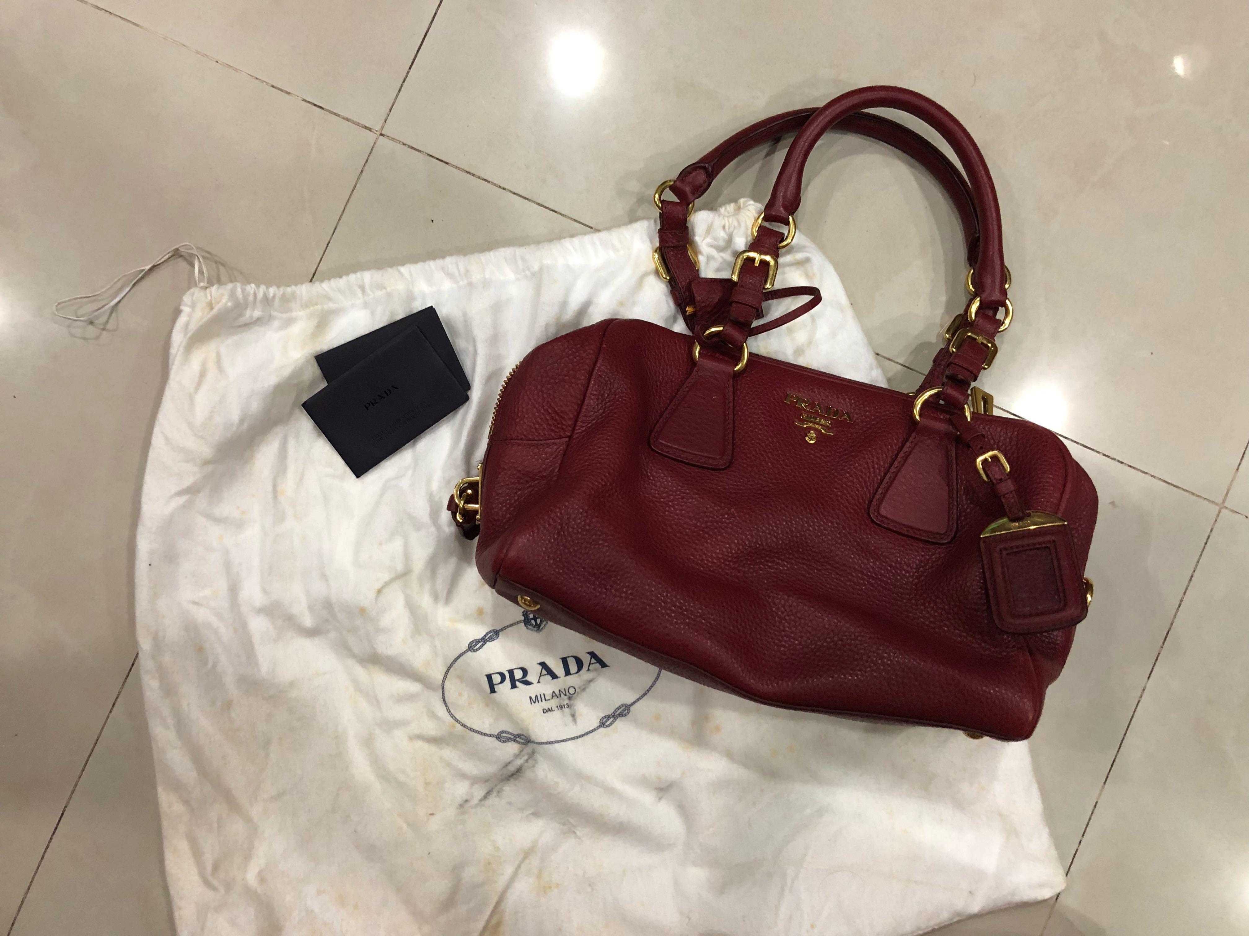 3c5af644b620dc Prada handbag, Women's Fashion, Bags & Wallets, Handbags on Carousell