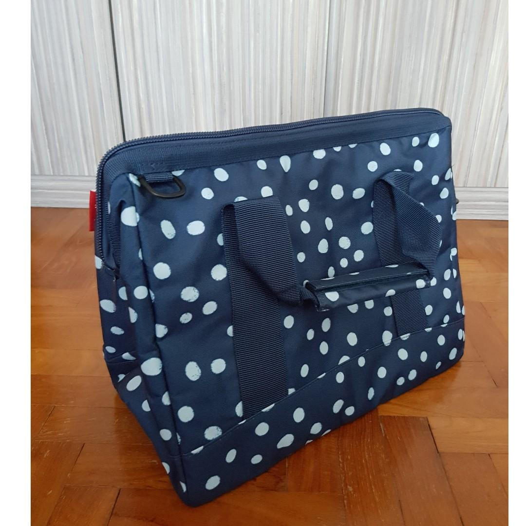 8961651317fd Reisenthel Allrounder Handbag L Spots Navy, Women's Fashion, Bags ...