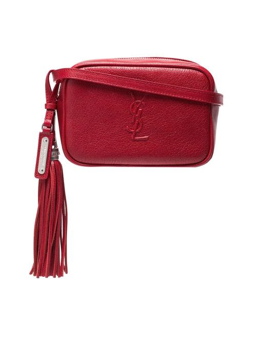 cd53d06c22e Saint Laurent (YSL) Red Waist/Sling Bag, Women's Fashion, Bags & Wallets,  Others on Carousell