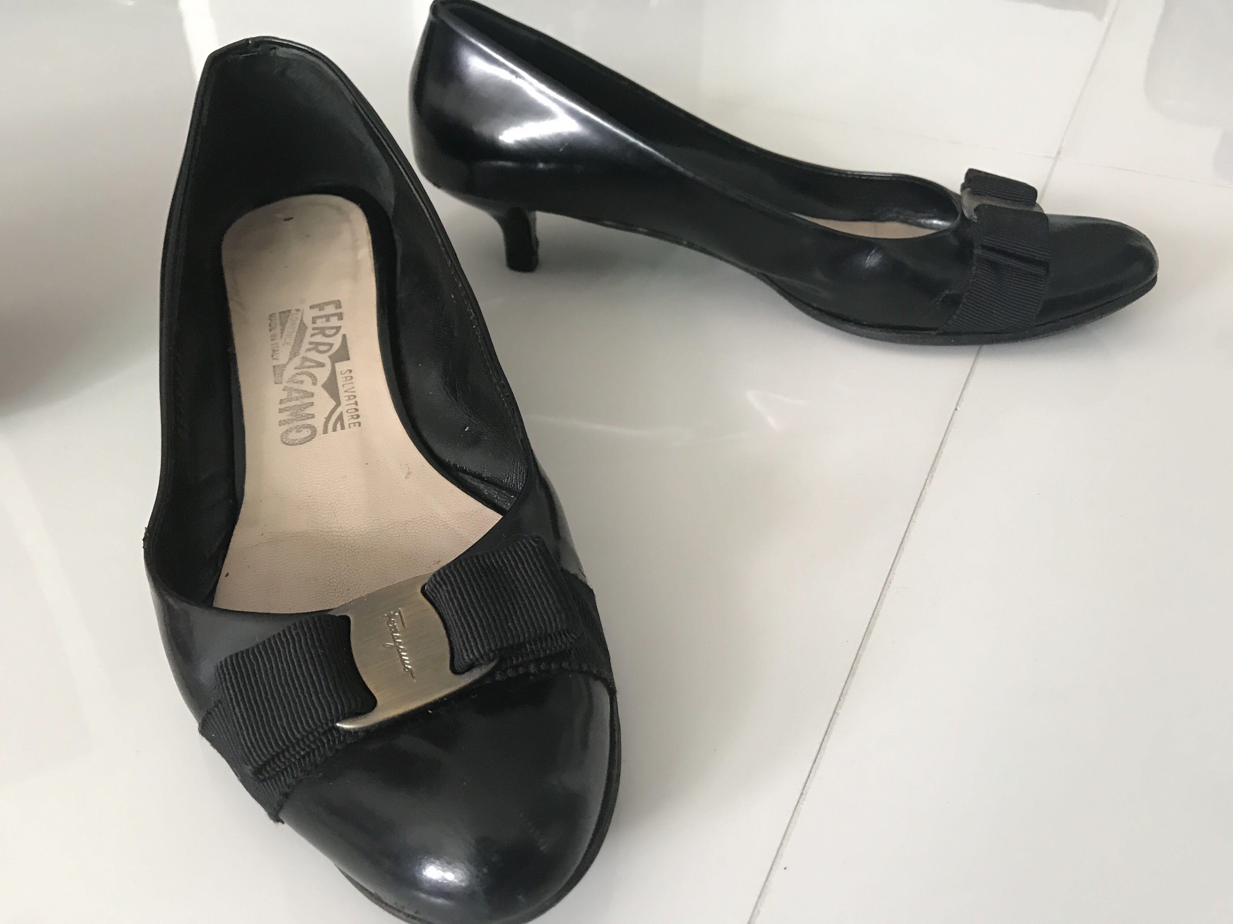 5283c692735 Salvatore Ferragamo ladies heels for sale