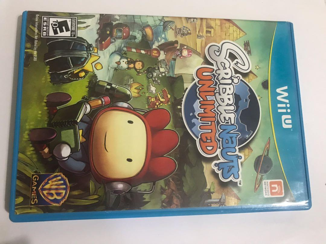 Scribblenauts Unlimited Wii U, Toys & Games, Video Gaming