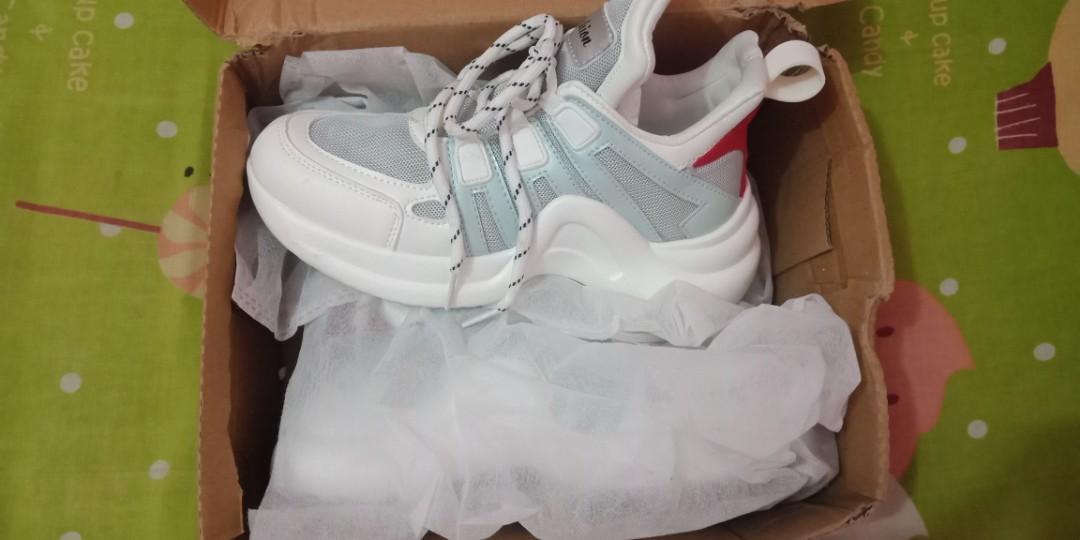 Sepatu Sneakers Kets Korea Ulzzang
