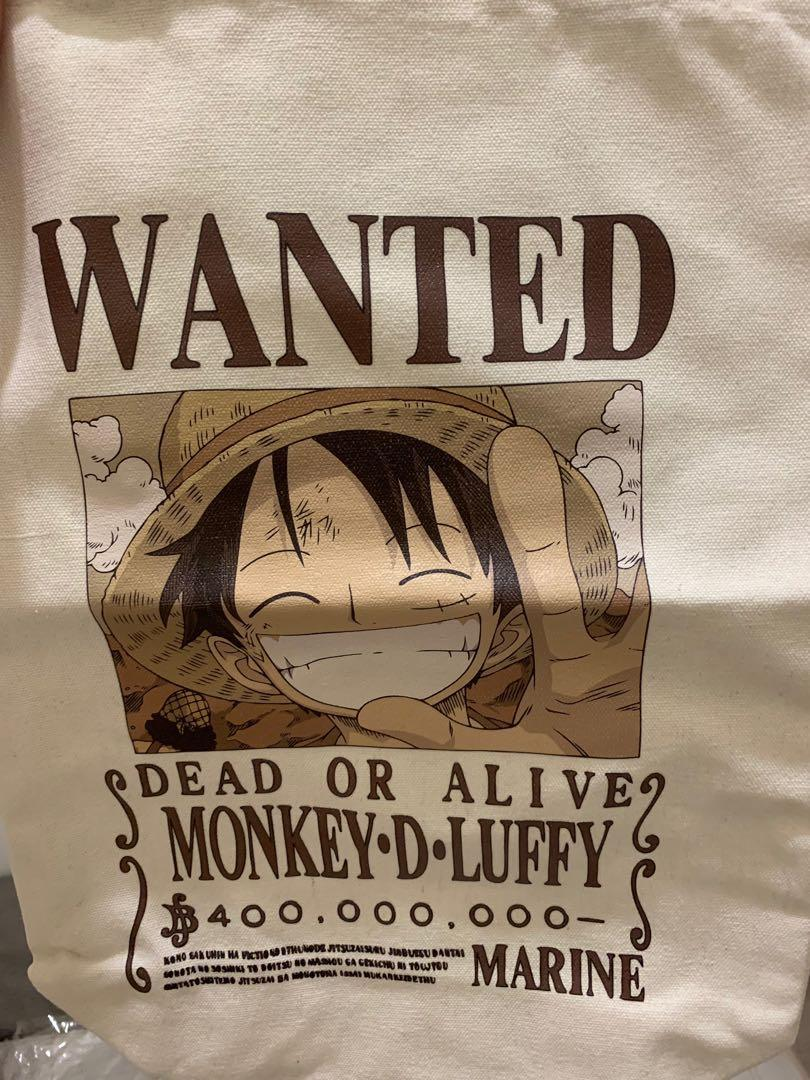 Skechers one piece Luffy tote bag