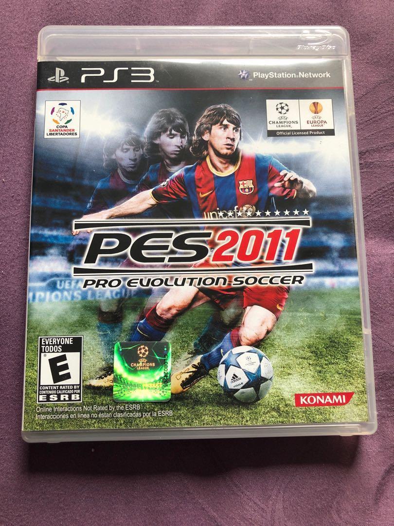 Sony PlayStation ps3 pes 2011 pro evolution soccer, Toys