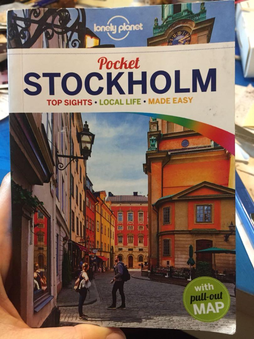 Stockholm Lonely Planet Travel Guide 斯德哥爾摩旅遊書