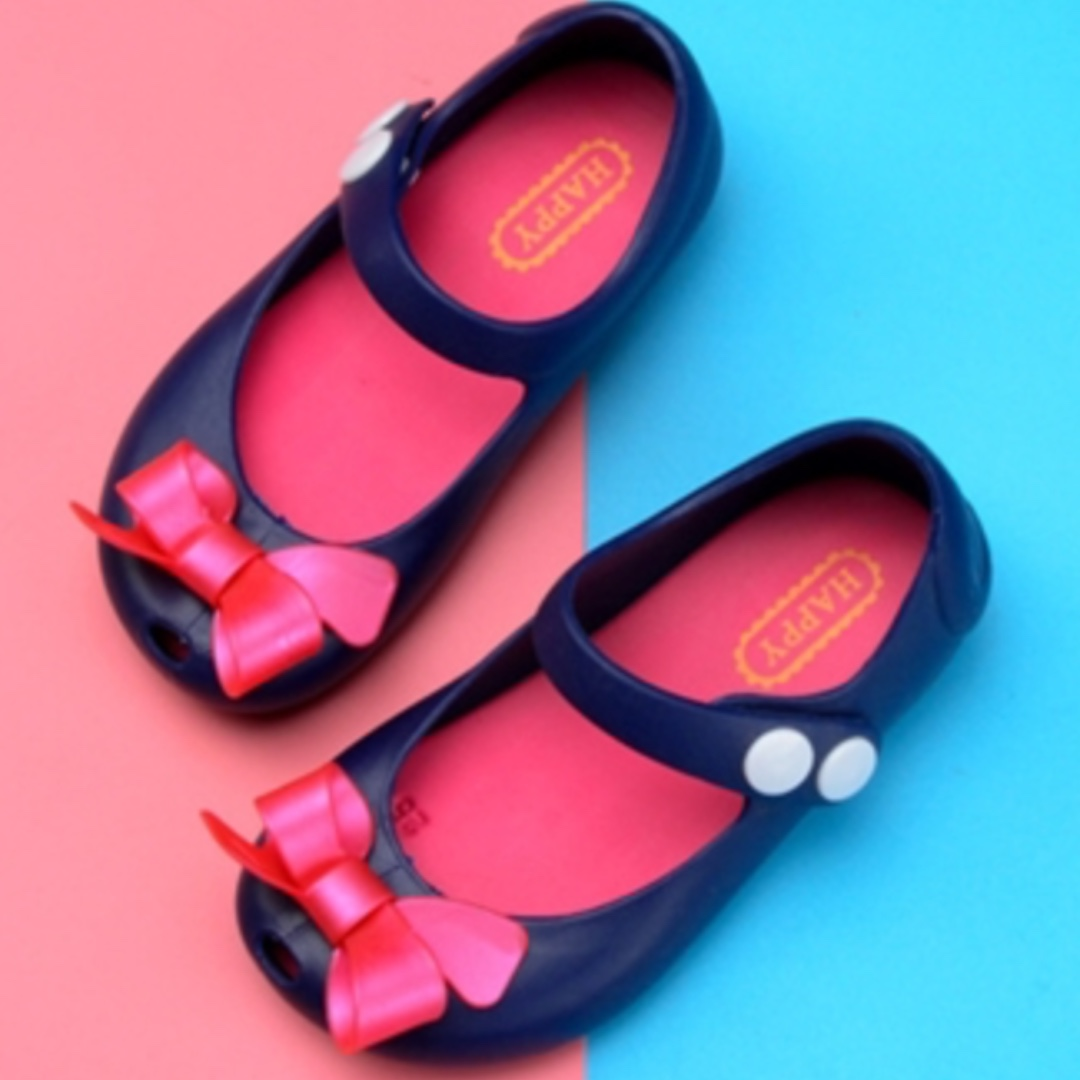 46831b32b2 Summer Girl sandals Melissa butterfly frozen shoes children beach shoes  girl Princess Shoes