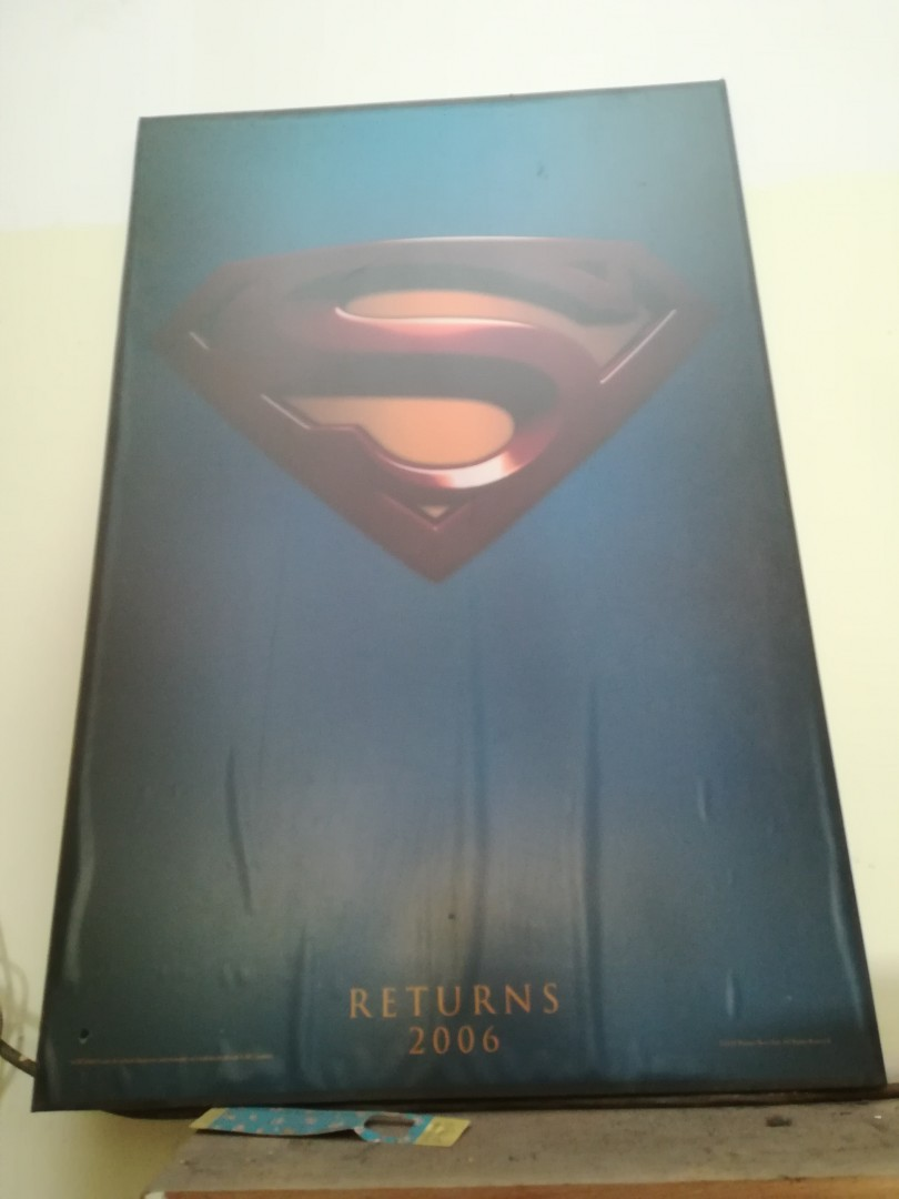 Superman Returns 2006 poster frame