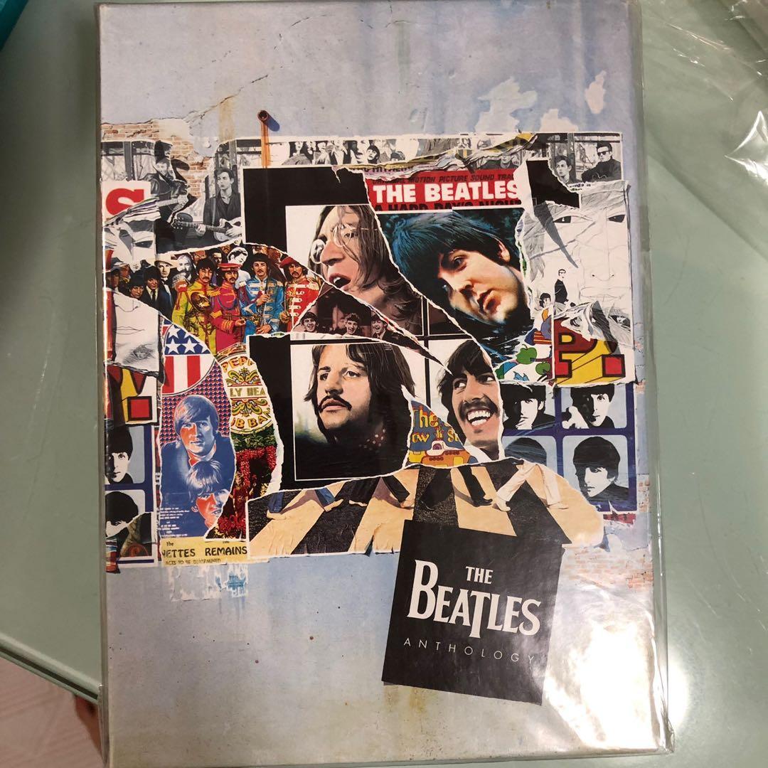 The Beatles anthology DVD