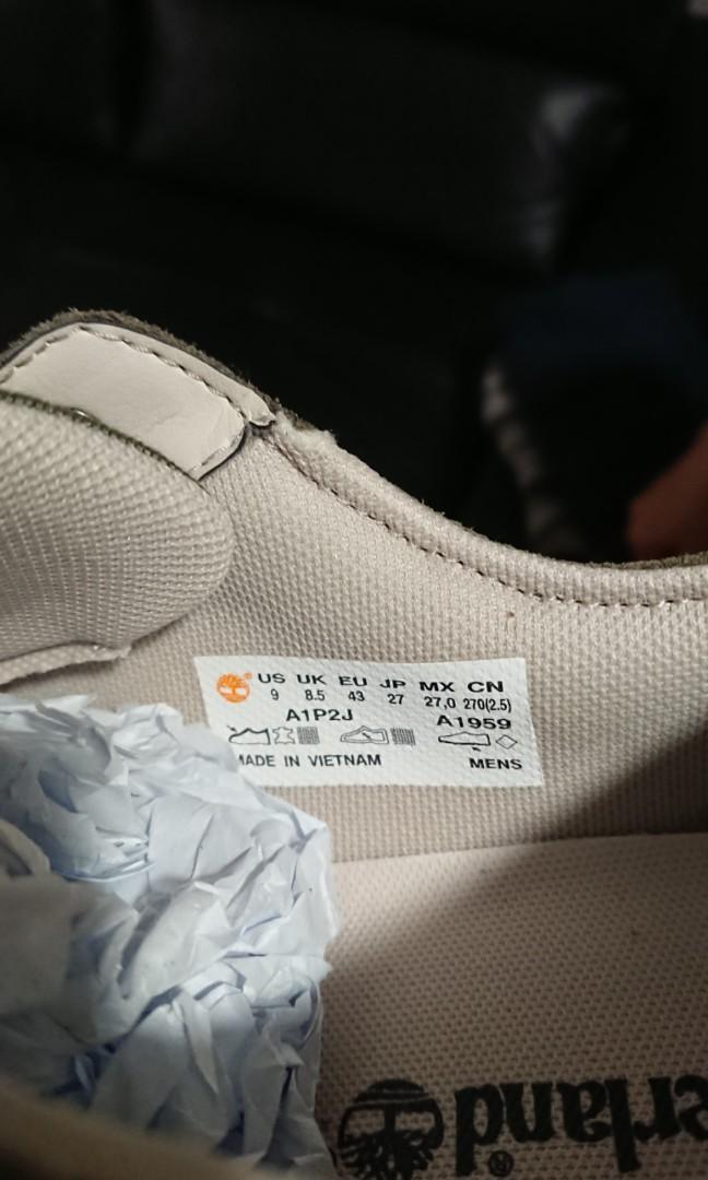 Timberland Sneakers US Size 9, UK Size 8 5, EU Size 43