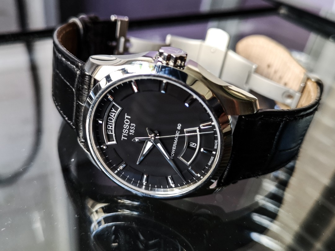 Tissot Couturier Powermatic 80 Men S Fashion Watches On Carousell