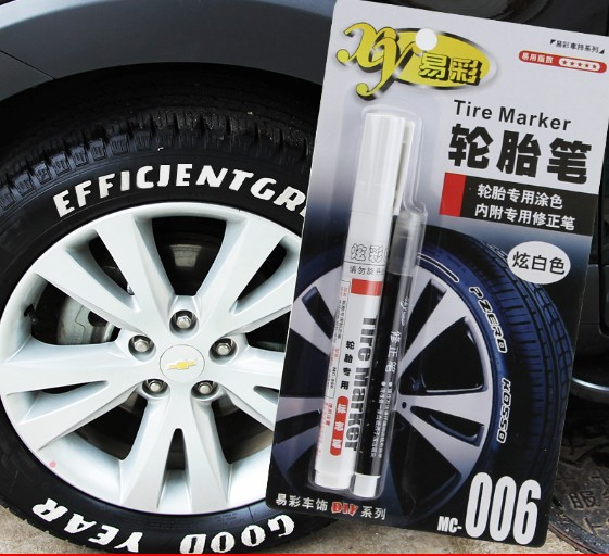 Tyre Marker Car Motorcycles Wheel Rim Accessories Paint White