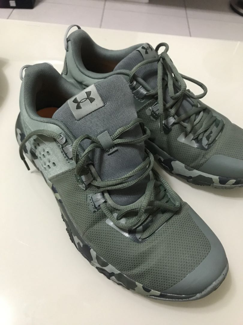 021a0ac044e77 ... under armour green camo men s fashion footwear sneakers on carou ...