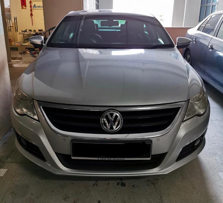 Volkswagen Passat 1.8 CC TSI Auto