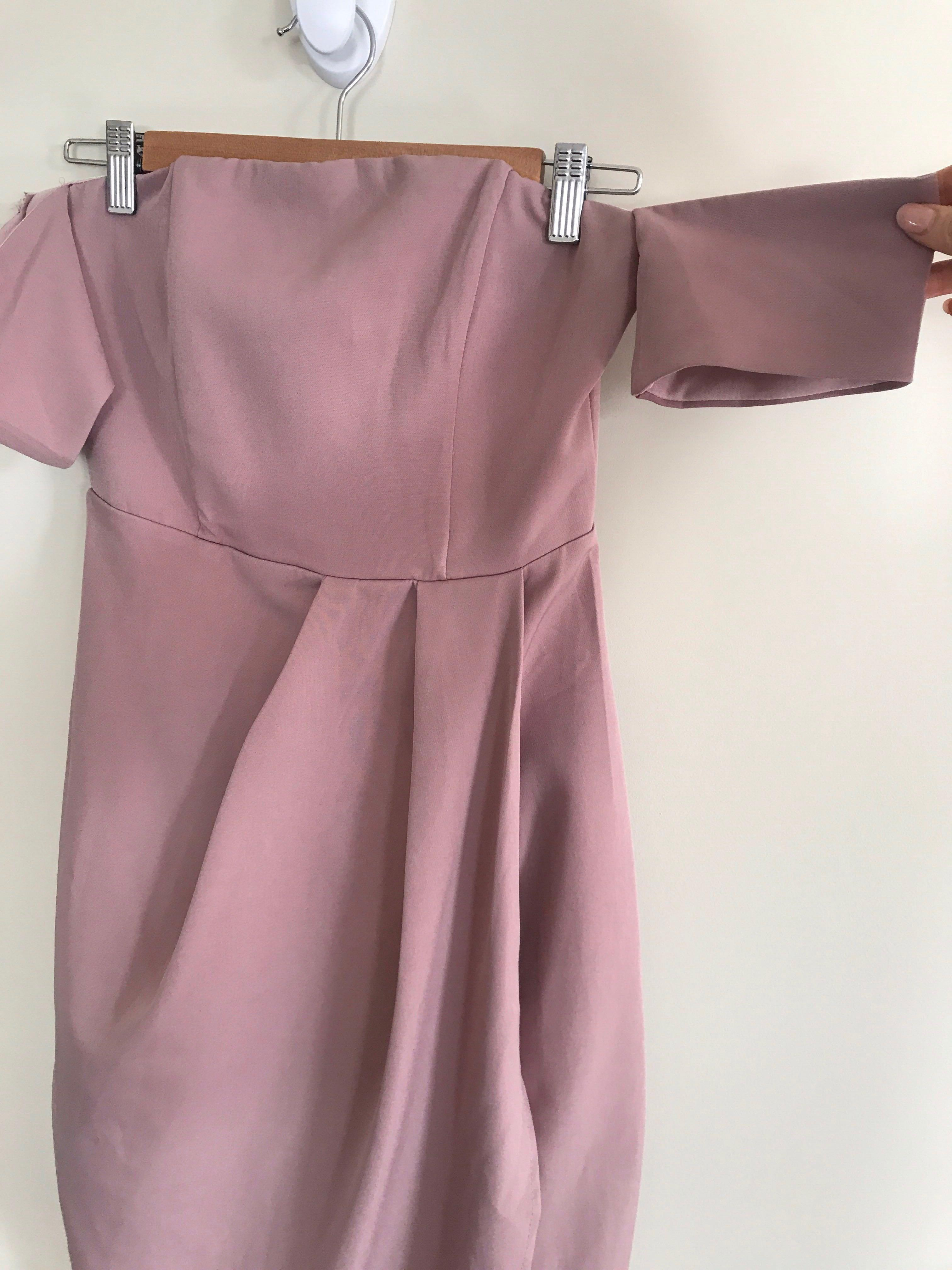 White Fox Boutique Dusty Pink Delilah Dress - Postage Included