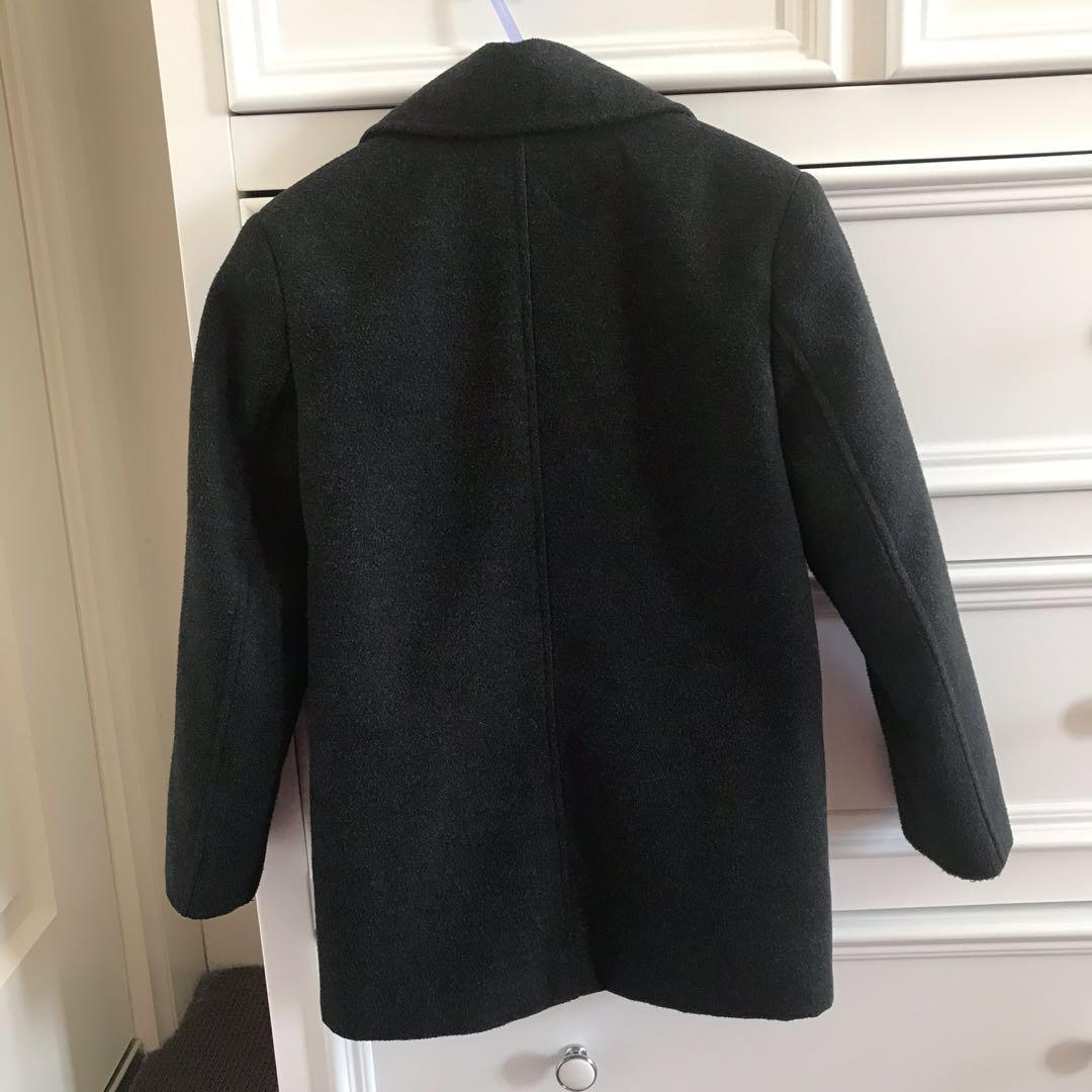 Winter Coat BROOKLYN INDUSTRIES Boy's Size 6, Charcoal