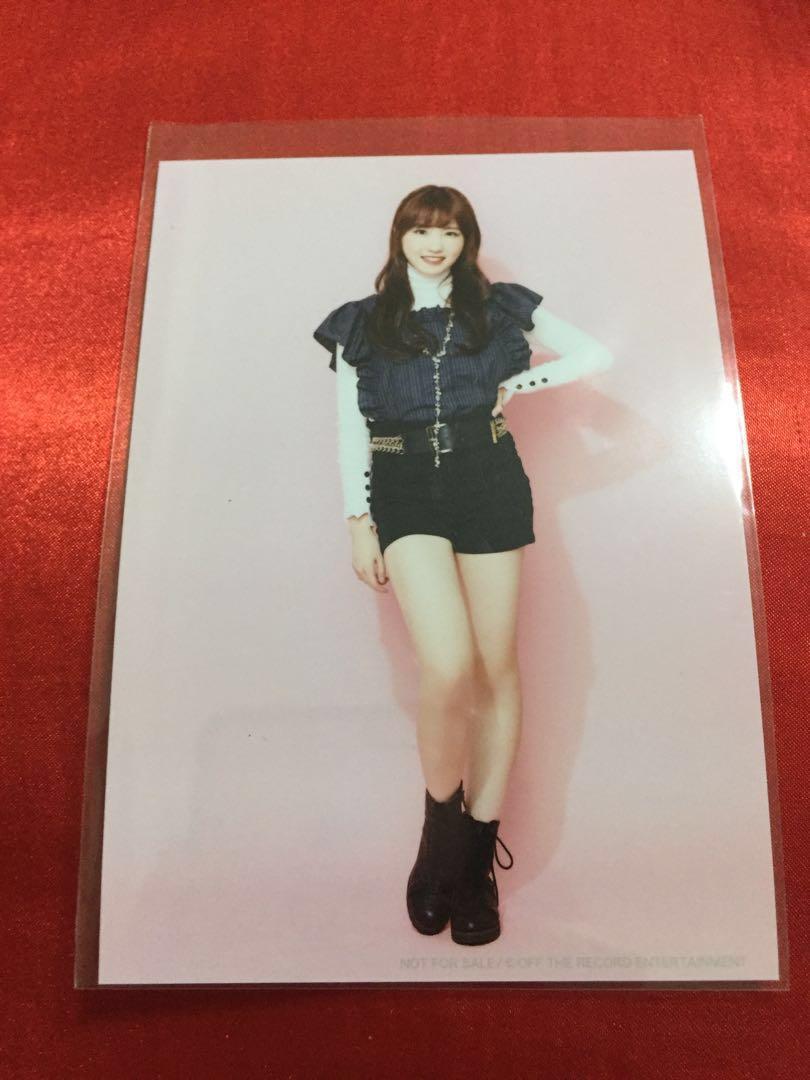 [WTS] IZONE IZ*ONE Suki To Iwasetai japan single Hitomi Photo