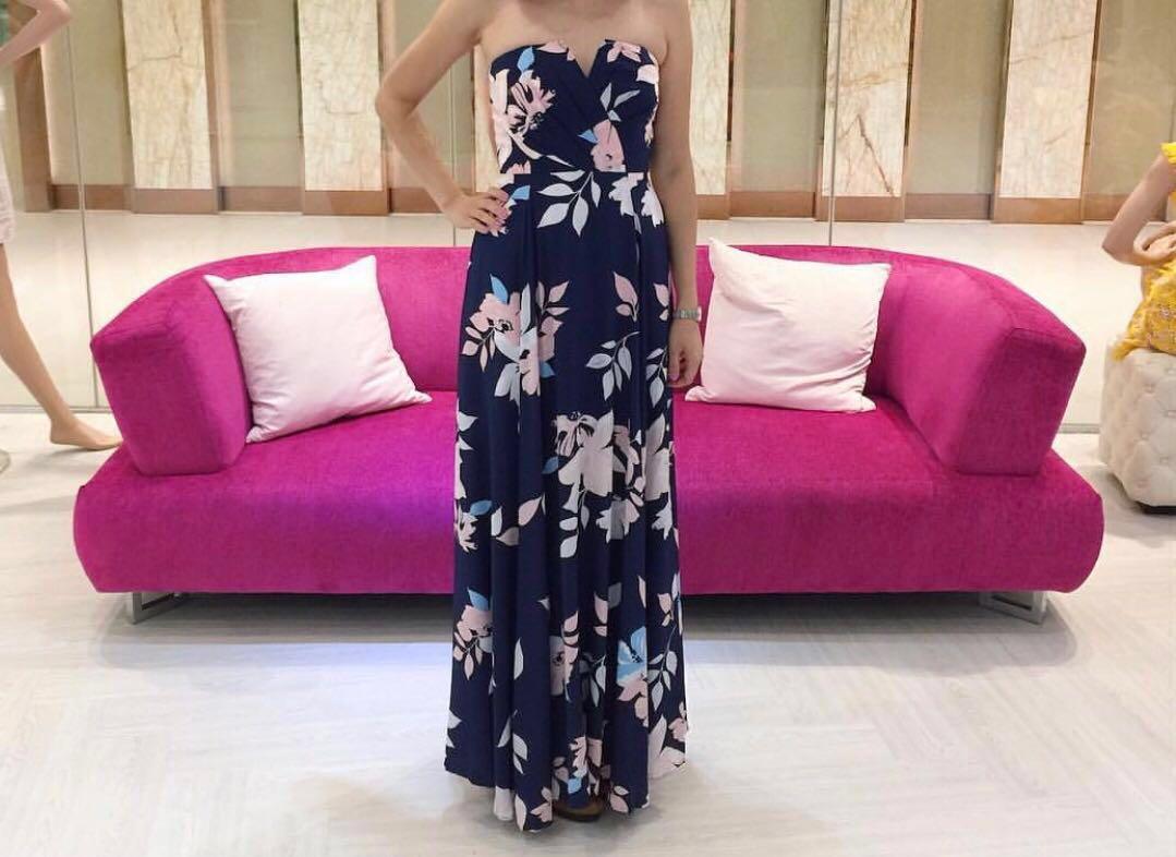 Yumi Kim Silk Maxi Dress