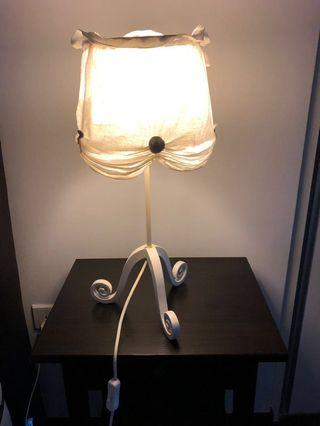 Pair of Bedside lamps (removable fabric)