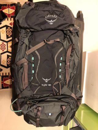 osprey backpack (woman)