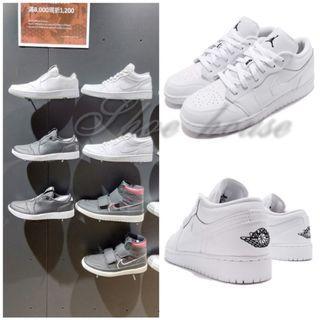 🚚 NIKE (男) AIR JORDAN 1 LOW 低筒 皮革 休閒鞋 -553558112-原價3200元